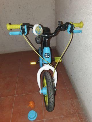 "Bici infantil 10"" con y sin pedales"