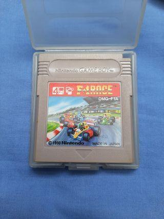 Game boy F1 Race