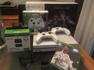 Xbox ONE S + accesorios +juegos