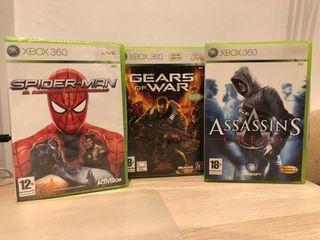 Pack 3 juegos Xbox