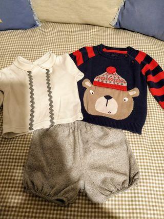 conjunto ropa bebe