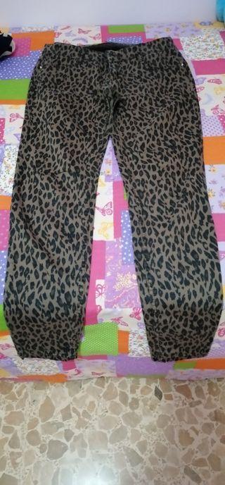 pantalon animal print leopardo