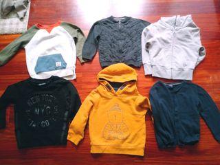 Lote jerseys sudaderas 18-24 meses