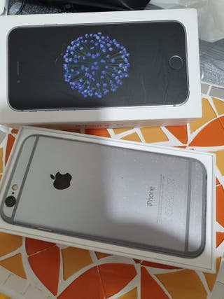 IPHONE 6 APPLE SPACE GREY COMO NUEVO