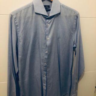 Camisa Caramelo azul