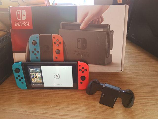 Nintendo switch solo hoy