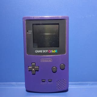Consola Nintendo Game boy color - Carcasa morada
