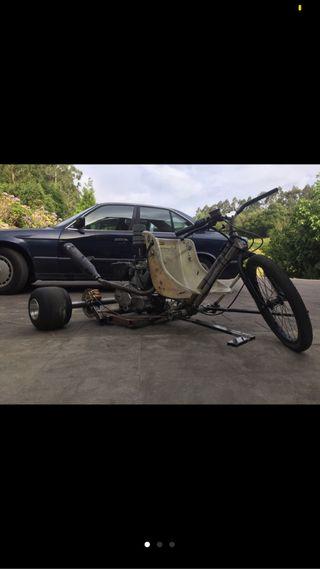 Drift trike con motor de moto 150cc