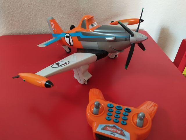 Avión Radio Control Dusty Disney