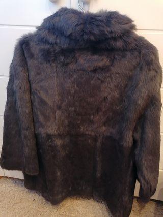chaqueta de pelo auténtico
