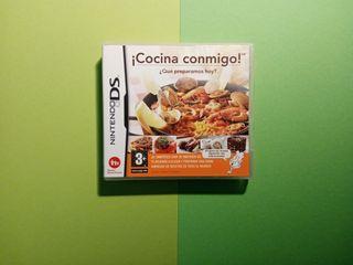 """Juego """"Cocina Conmigo"""" Nintendo DS"""