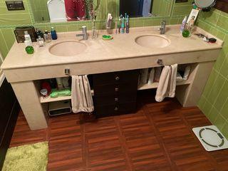 Lavabo baño mármol espectacular