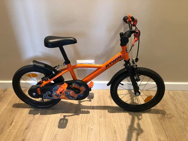 Bicicleta btwin niño niña