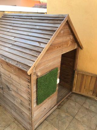 Casa madera infantil