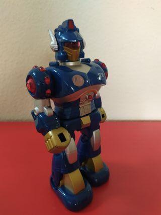 Robot con luces y movimiento