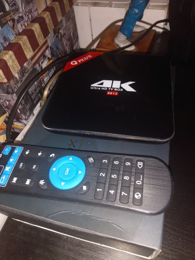 TV BOX 4K ULTRA HD