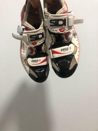 Zapatillas de ciclismo sidi ergo 3 carbon n42