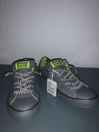 Converse gris 38 nuevos