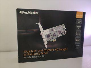 AverMedia AverTV CaptureHD Capturadora de vídeo
