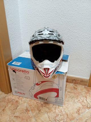 casco moto croos niño