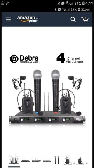 microfonos debra d140