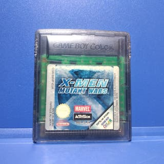 Juego Nintendo Game Boy Color X-men Mutant Wars