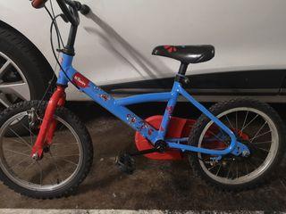 "bicicleta 16"" Btwin"
