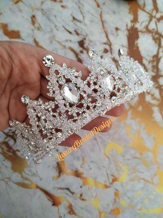Swarovski cristal Tiara de novia tocado diadema