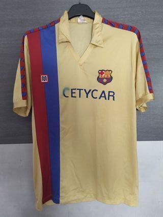 Camiseta F. C. Barcalona. 82/85