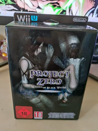 Project Zero Wii U precintado