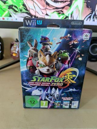Star Fox Zero coleccionista precintado