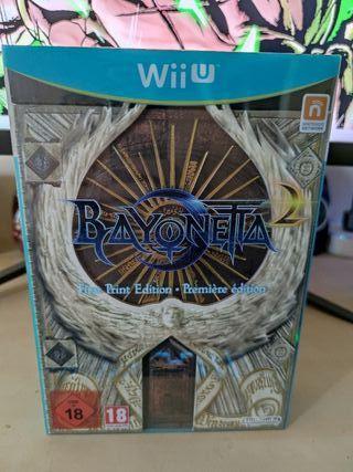 Bayonetta First Print Edition Wii U precintado