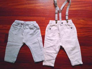 Lote pantalones 12-18 meses