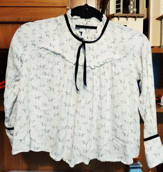 camisa de vestir tizzas talla 9/10