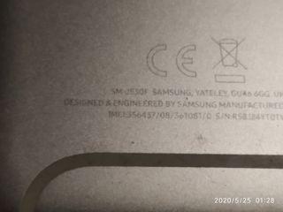 Samsung J5 con cristal y pantalla rota de sostitu