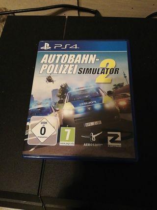 Autobahn-Polizei Simulator2 Nuevo PS4