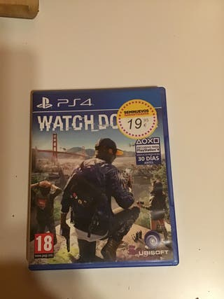 Watch dogs 2 videojuego ps4