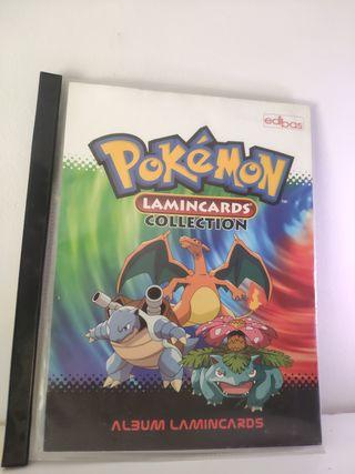 Albúm Pokémon Lamincards Collection