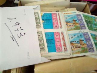 decimos y billetes de loteria