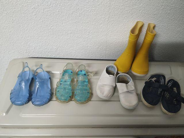 Zapatos talla 22 niño