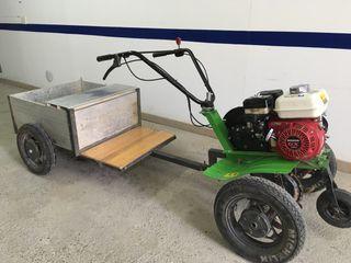 Motocultor Agria con carro
