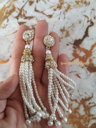 Pendientes estilo Vintage en color dorado ,plata