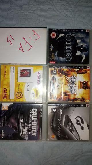 lote de juegos ps3 todos 30€