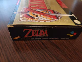 The Legend of Zelda, a Link to the past, para snes