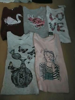 lote camisetas4_5 sin estrenar