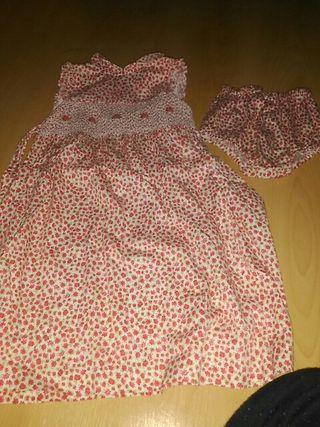 vestido talla 4 más braguita