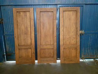 puerta rústicas madera de pino