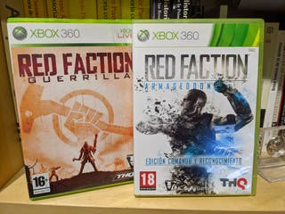 Pack Red Faction Xbox 360