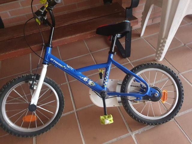 bicicleta niño btwin