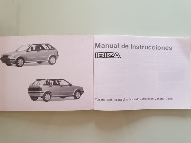 Manual instrucciones Seat Ibiza New Style